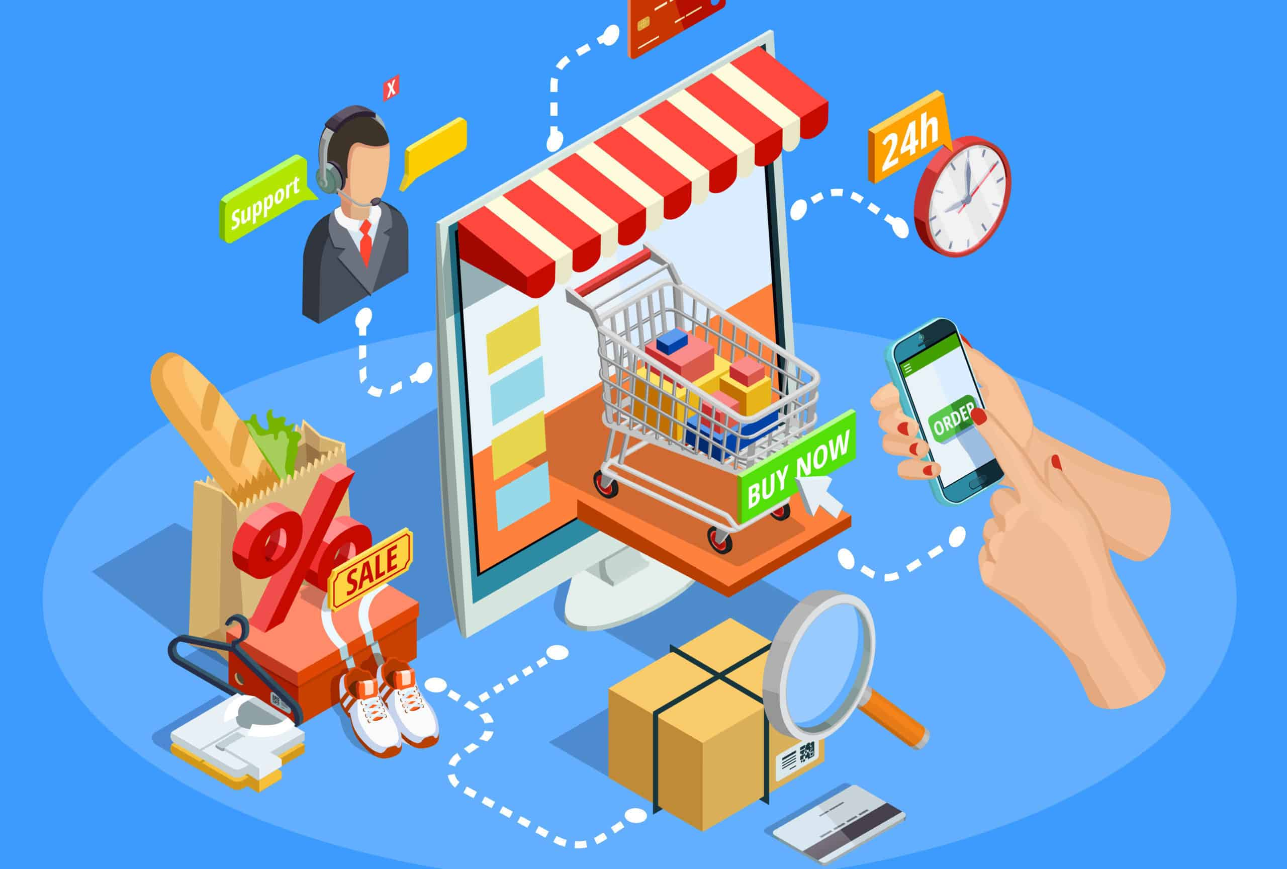 Increase visibility for e-commerce websites - Digital Trails
